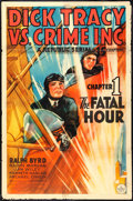 """Movie Posters:Serial, Dick Tracy vs. Crime Inc. (Republic, 1941). One Sheet (27"""" X 41""""). Serial.. ..."""