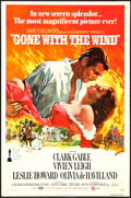 "Movie Posters:Academy Award Winners, Gone with the Wind (MGM, R-1977). One Sheet (27"" X 41""). AcademyAward Winners.. ..."