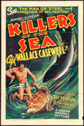"Movie Posters:Documentary, Killers of the Sea (Grand National, 1937). One Sheet (27"" X 41"").Documentary.. ..."