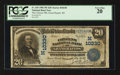 National Bank Notes:Wisconsin, Grand Rapids, WI - $20 1902 Plain Back Fr. 655 The Citizens NB Ch. # (M)10330. ...