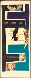 """Movie Posters:Drama, The Man with the Golden Arm (United Artists, 1955). Insert (14"""" X 36""""). Drama.. ..."""
