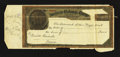Miscellaneous:Other, American Exchange in Europe Mockup Cheque Design circa 1880s.. ...