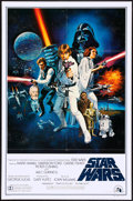 "Movie Posters:Science Fiction, Star Wars (20th Century Fox, 1977). One Sheet (27"" X 41"") Style C.Science Fiction.. ..."