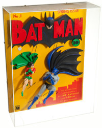 Batman #1 Dimensional Wall Sculpture Limited Edition #134/250 (DC/Warner Bros., 1995)
