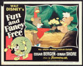 "Movie Posters:Animated, Fun and Fancy Free (RKO, 1947). Lobby Card (11"" X 14""). Animated.. ..."