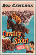 """Movie Posters:Western, Cavalry Scout (Monogram, 1951). One Sheet (27"""" X 41""""). Western.. ..."""