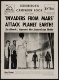 "Movie Posters:Science Fiction, Invaders from Mars (20th Century Fox, 1953). Uncut Pressbook (12Pages, 11"" X 15""). Science Fiction.. ..."