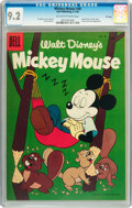 Golden Age (1938-1955):Funny Animal, Mickey Mouse #48 File Copy (Dell, 1956) CGC NM- 9.2 Off-white towhite pages....