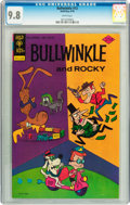 Bronze Age (1970-1979):Cartoon Character, Bullwinkle #12 (Gold Key, 1976) CGC NM/MT 9.8 White pages....