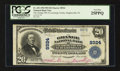 National Bank Notes:Pennsylvania, Hughesville, PA - $20 1902 Plain Back Fr. 652 The Grange NB of Lycoming County Ch. # 8924. ...