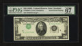 Error Notes:Inverted Third Printings, Fr. 2060-D $20 1950A Federal Reserve Note. PMG Superb Gem Unc 67EPQ.. ...