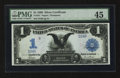 Large Size:Silver Certificates, Low Serial Number Fr. 231 $1 1899 Silver Certificate PMG Choice Extremely Fine 45.. ...
