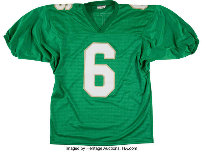 hot sale online dbccc 812fe Jerome Bettis Signed Notre Dame Fighting Irish Jersey ...
