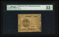 Colonial Notes:Continental Congress Issues, Continental Currency May 10, 1775 $7 PMG About Uncirculated 53EPQ.. ...