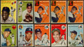 Baseball Cards:Lots, 1954 Topps Baseball Collection (32) With Many Hall Of Famers....
