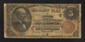 National Bank Notes:Pennsylvania, McKees Rocks, PA - $5 1882 Brown Back Fr. 477 The First NB Ch. #(E)5142. ...