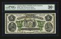 Canadian Currency: , Montreal, PQ- Bank of British North America $5 May 28, 1886 Ch. #55-22-02. ...