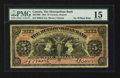 Canadian Currency: , Toronto, ON- The Metropolitan Bank $5 Nov. 5, 1902 Ch. # 485-10-06....