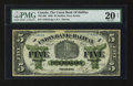 Canadian Currency: , Halifax, NS- Union Bank of Halifax $5 May 1, 1886 Ch. # 735-14-08....