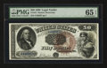 Large Size:Legal Tender Notes, Fr. 161 $50 1880 Legal Tender PMG Gem Uncirculated 65 EPQ.. ...