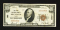 National Bank Notes:Maine, Brunswick, ME - $10 1929 Ty. 1 The First NB Ch. # 192. ...
