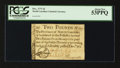 Colonial Notes:North Carolina, North Carolina December, 1771 £2 PCGS About New 53PPQ.. ...