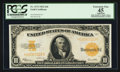 Large Size:Gold Certificates, Fr. 1173 $10 1922 Gold Certificate PCGS Apparent Extremely Fine 45.. ...