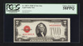 Small Size:Legal Tender Notes, Fr. 1507* $2 1928F Legal Tender Star Note. PCGS Choice About New 58PPQ.. ...