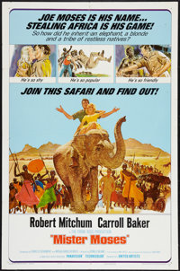 """Mister Moses (United Artists, 1965). One Sheet (27"""" X 41"""") and Lobby Card Set of 8 (11"""" X 14""""). Adve..."""