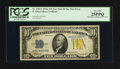 Error Notes:Ink Smears, Fr. 2309* $10 1934A North Africa Silver Certificate. Face Plate 86.PCGS Very Fine 25PPQ.. ...