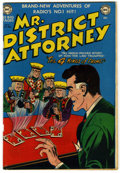 "Golden Age (1938-1955):Classics Illustrated, Mr. District Attorney #19 Davis Crippen (""D"" Copy) pedigree (DC, 1951) Condition: VF-...."