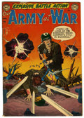 Golden Age (1938-1955):War, Our Army at War #1 (DC, 1952) Condition: VG....