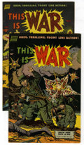 Golden Age (1938-1955):War, This Is War #5 and 7 Group (Standard, 1952-53) Condition: AverageFN/VF....