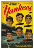 Golden Age (1938-1955):Non-Fiction, Thrilling True Story of the Baseball Yankees #nn (Fawcett, 1952)Condition: VG/FN....