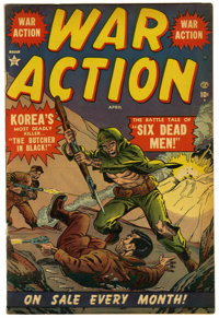 War Action #1 and 2 Group (Atlas, 1952)