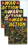 Golden Age (1938-1955):War, War Action Group (Atlas, 1952-53) Condition: Average VG/FN....