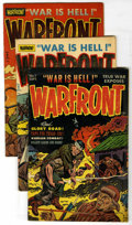 Golden Age (1938-1955):War, Warfront Group (Harvey, 1951-53) Condition: Average VG/FN....