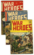 Golden Age (1938-1955):War, War Heroes Group (Dell, 1952-53) Condition: Average FN....