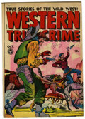 """Golden Age (1938-1955):Western, Western True Crime 16 (#2) Davis Crippen (""""D"""" Copy) pedigree (Fox Features Syndicate, 1948) Condition: FN+...."""