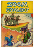 "Golden Age (1938-1955):War, Zoom Comics #nn Davis Crippen (""D"" Copy) pedigree (CarltonPublishing, 1945) Condition: FN...."