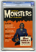Magazines:Horror, Famous Monsters of Filmland #2 (Warren, 1958) CGC FN- 5.5 Off-white pages....