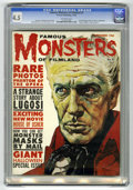 Magazines:Horror, Famous Monsters of Filmland #9 (Warren, 1960) CGC VG+ 4.5 Off-white pages....