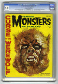 Magazines:Horror, Famous Monsters of Filmland #12 (Warren, 1961) CGC VG/FN 5.0 Off-white to white pages....
