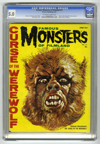 Famous Monsters of Filmland #12 (Warren, 1961) CGC VG/FN 5.0 Off-white to white pages
