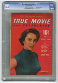 "Golden Age (1938-1955):Non-Fiction, True Movie and Television #1 Davis Crippen (""D"" Copy) pedigree(Toby Publishing, 1950) CGC FN+ 6.5 Cream to off-white pages...."