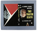 "Original Comic Art:Covers, ""This Traitor Death"" British Paperback Cover (Viking Mystery,undated). ..."