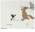 """Animation Art:Production Cel, """"Chilly's Hide-A-Way"""" Animation Production Cel and Clean-Up DrawingOriginal Art, Group of 3 (Walter Lantz Productions, 1971)...."""