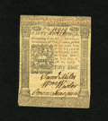 Colonial Notes:Pennsylvania, Pennsylvania October 1, 1773 50s Choice New. But for the marginsbeing a little small at top and bottom, this is a wonderful...