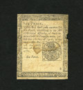 Colonial Notes:Pennsylvania, Pennsylvania April 20, 1781 6d Fine. This is a somewhat scarcerPennsylvania issue that should not be overlooked. This note ...