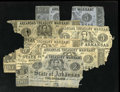 Obsoletes By State:Arkansas, Little Rock, AR- State of Arkansas This will be called the Arkansas Treasury Warrant remnant lot as these notes are in vario... (Total: 6 notes)